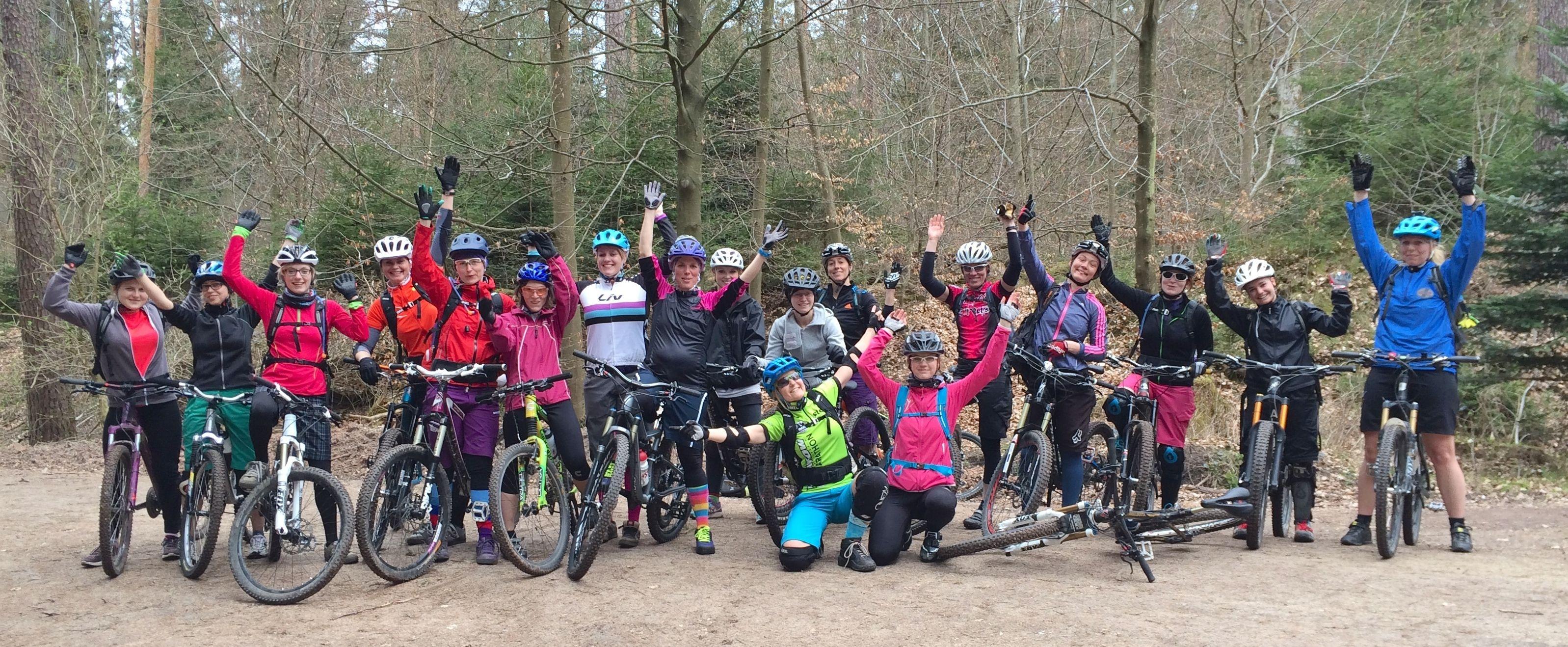 Frauenausfahrten auf dem Mountainbike in der Metropolregion Nürnberg