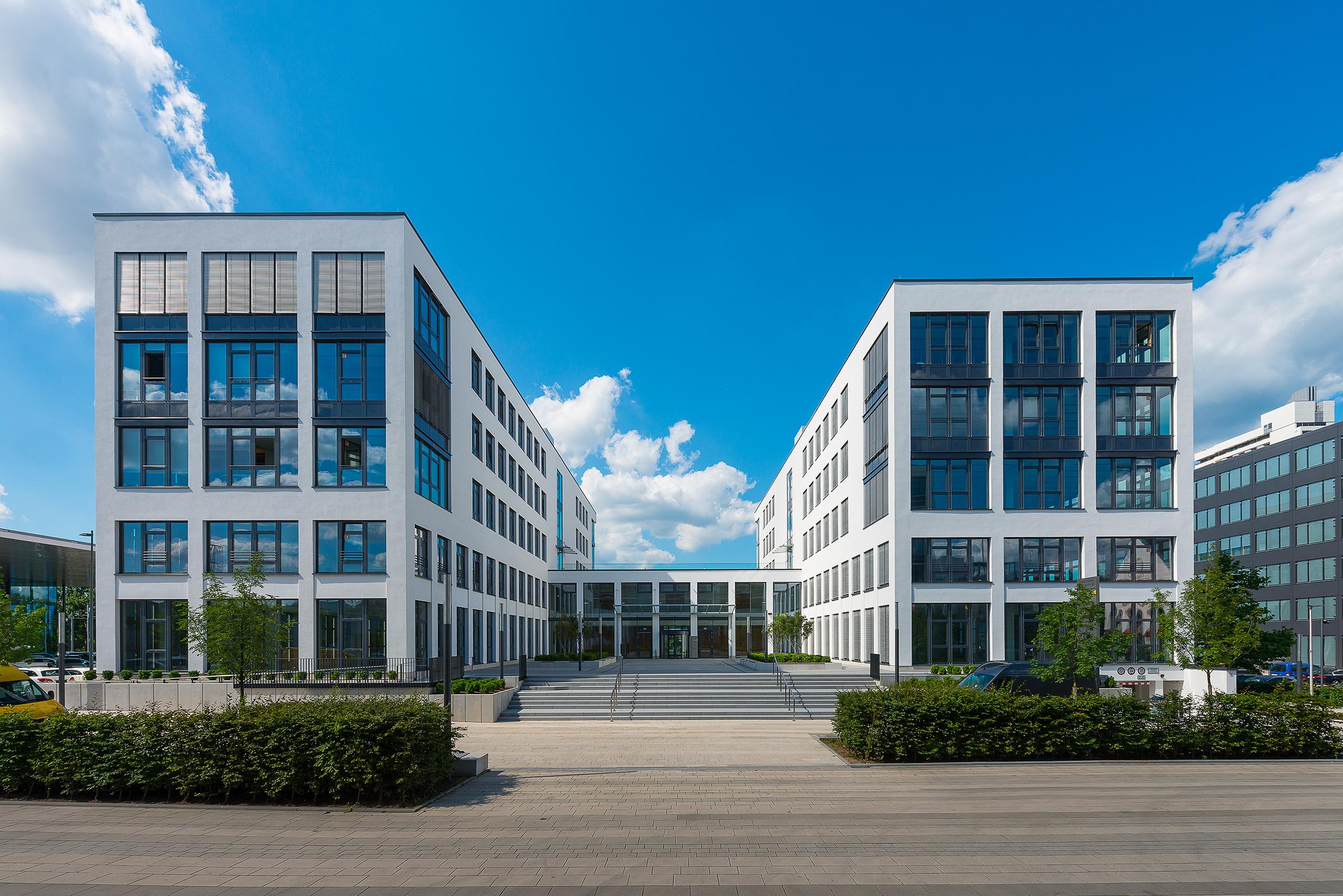 Businesspark Tullnaupark in Nürnberg