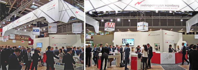 Expo Real 2016: Metropolregion Nürnberg
