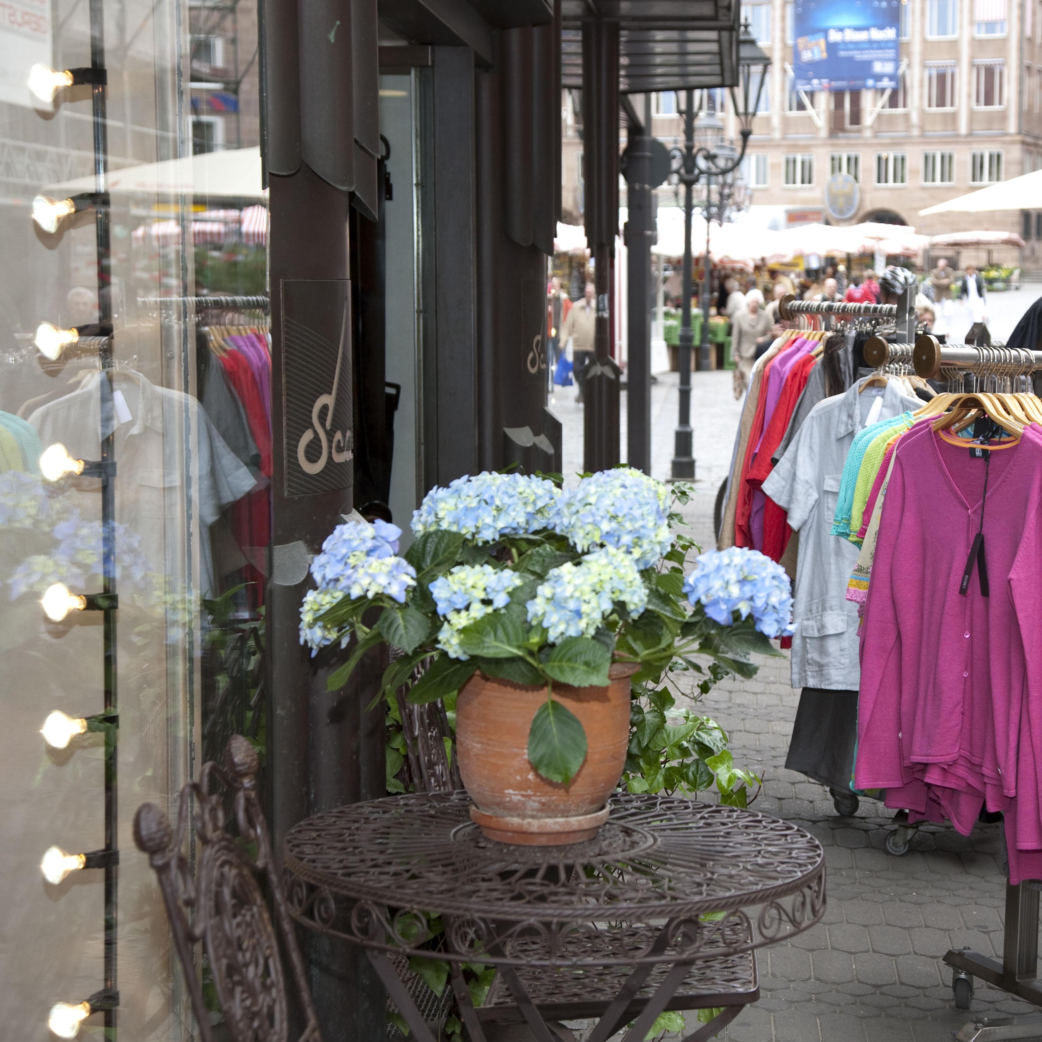 Shoppen macht in Nürnberg Spaß © Birgit Fuder, Stadt Nürnberg