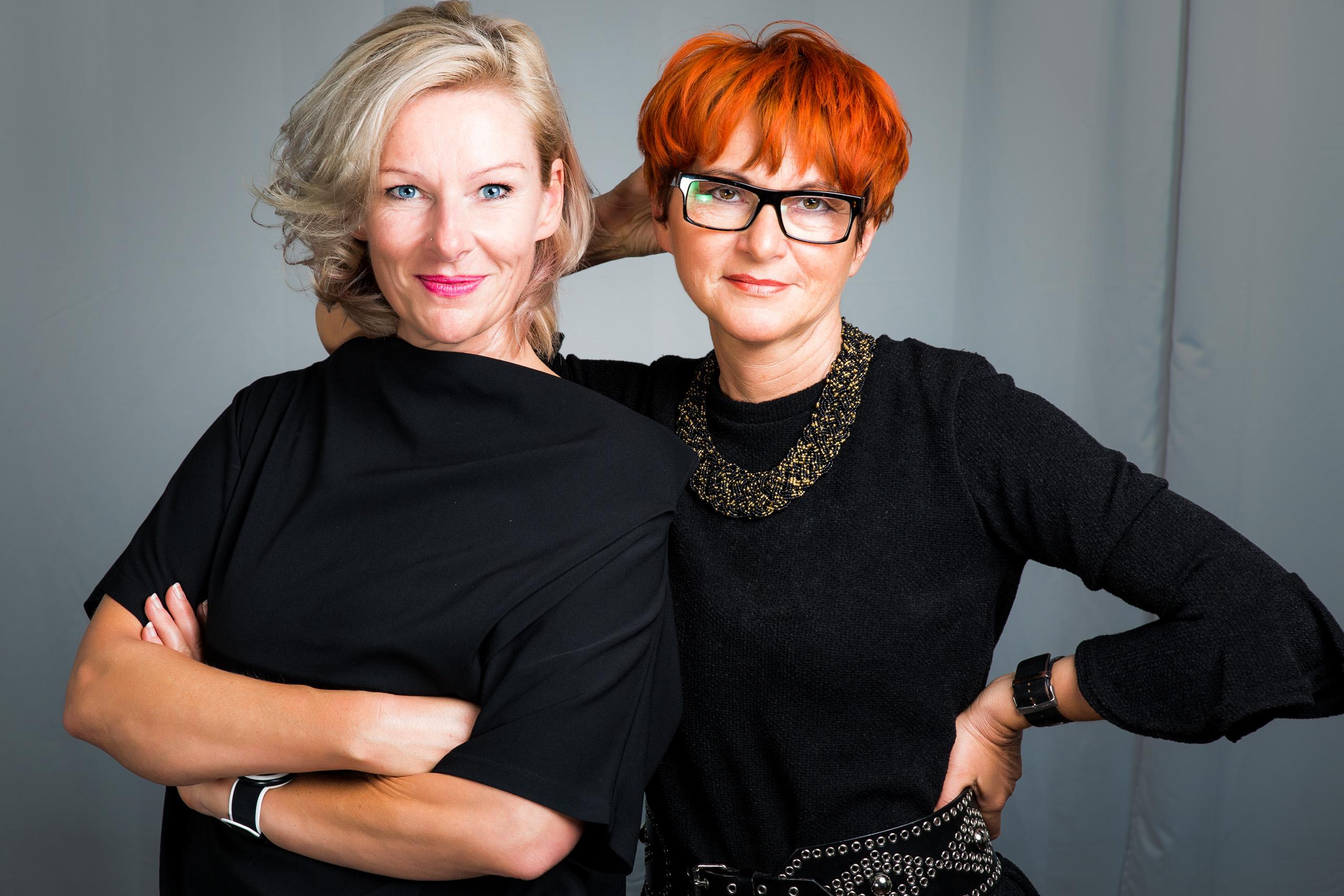 Inhaberinnen Sabine Beier und Margit Pinhak © Hairline